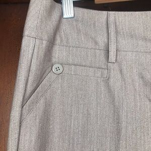 LA Fit Joe B Brown Semi Flare Dress Pants